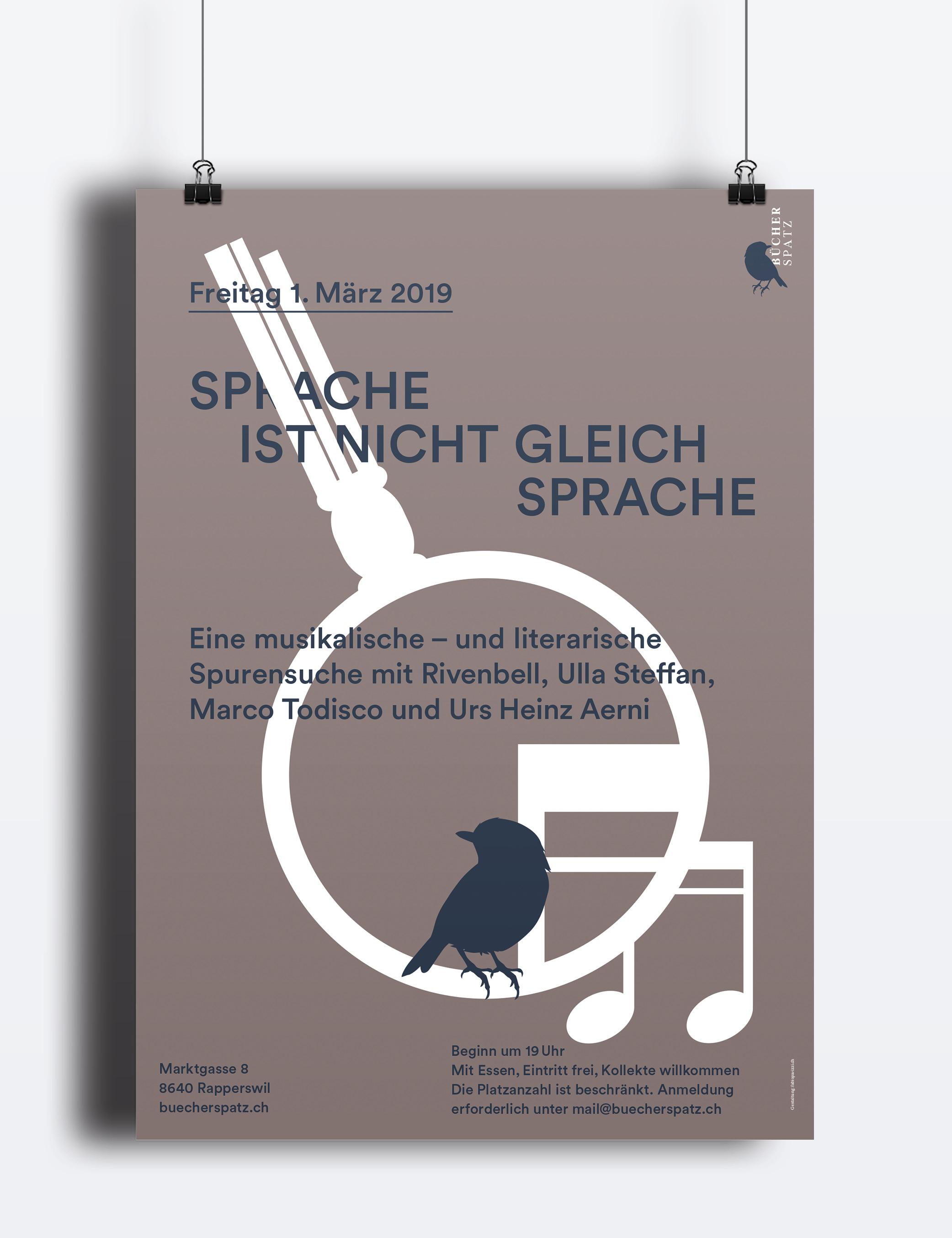 Plakat Spurensuche